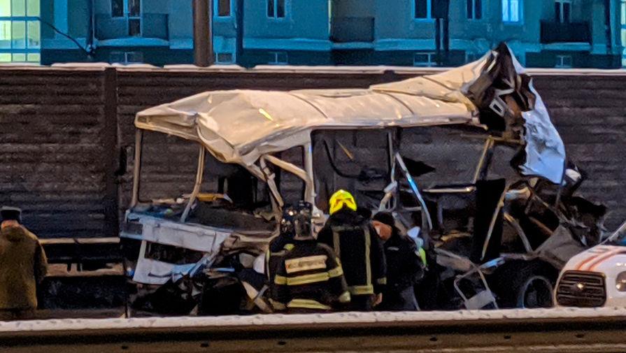 В ДТП с военной колонной в Подмосковье пострадали 24 человека