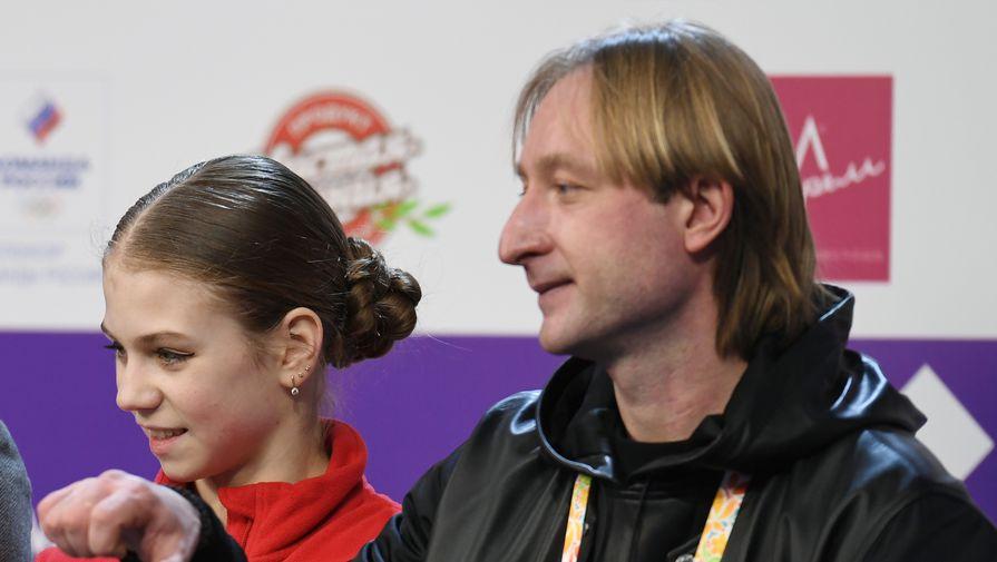 Плющенко поделился мнением о четверных прыжках Трусовой