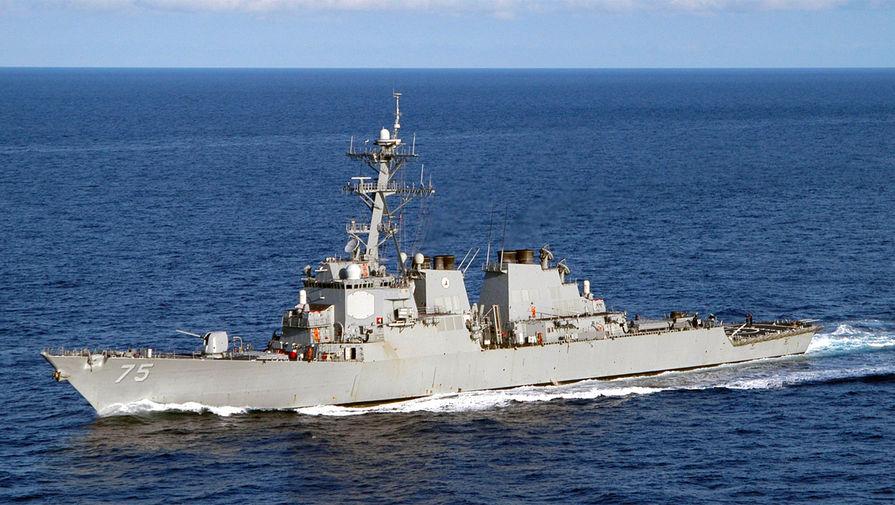 Эсминцы ВМС США 'Портер' и 'Дональд Кук' покинули Черное море