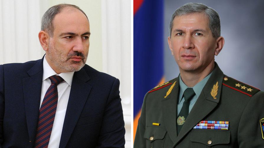 Адвокат заявил, что Гаспарян все еще остается главой Генштаба ВС Армении