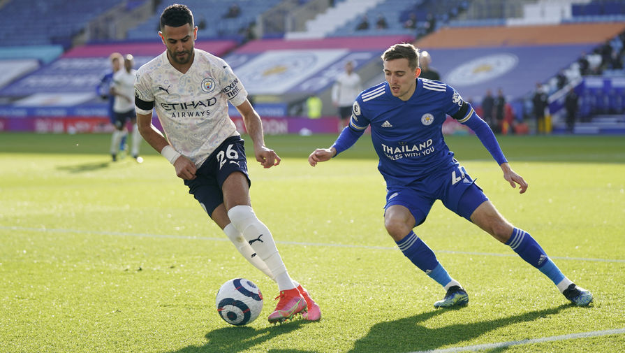 'Манчестер Сити' в гостях переиграл 'Лестер' в матче АПЛ
