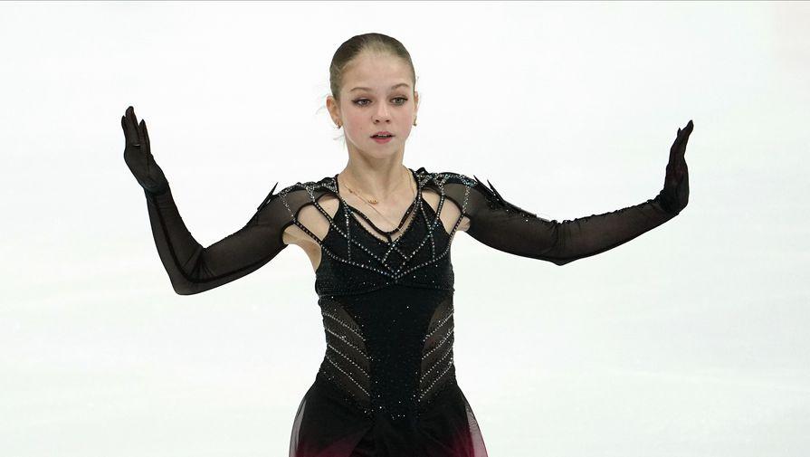 Трусова рассказала о тренировках в академии Плющенко