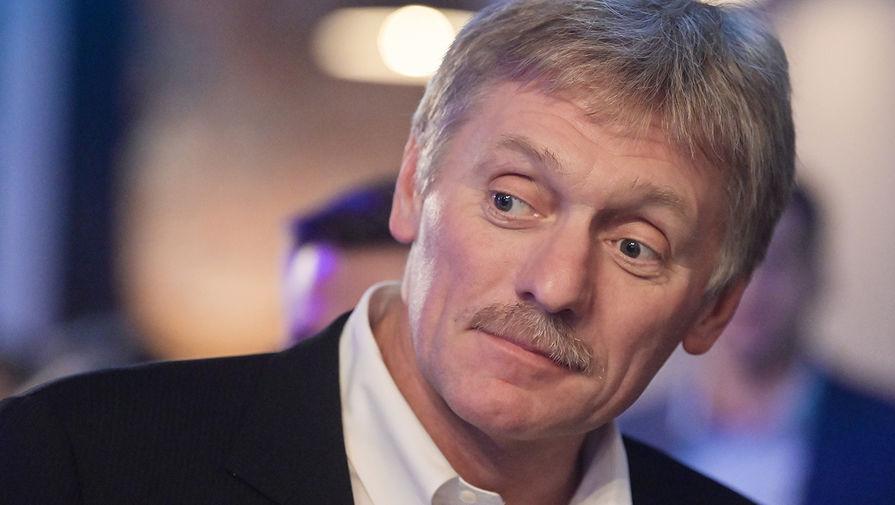 Песков указал на пассивность Киева в урегулировании ситуации в Донбассе