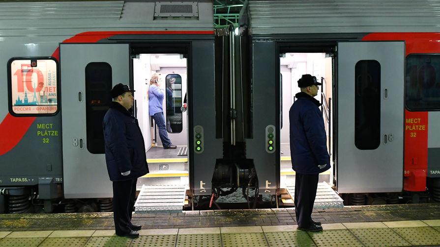 Первый поезд РЖД отправился в Белоруссию после перерыва из-за коронавируса