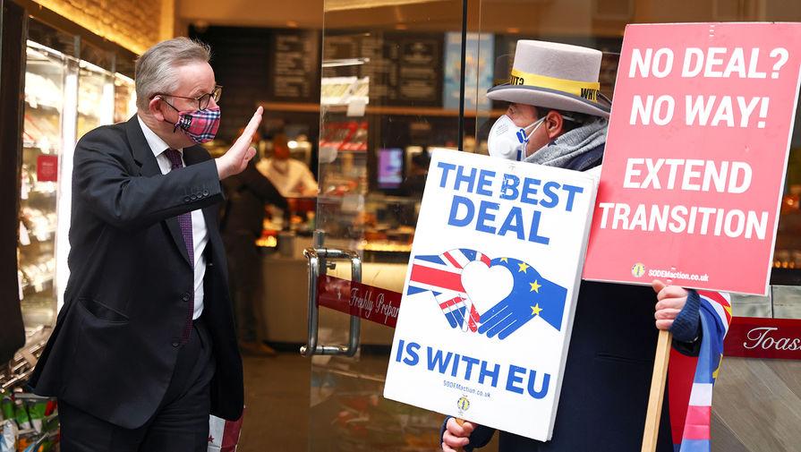 Джонсон рассказал о переговорах с ЕС по торговому соглашению в рамках Brexit