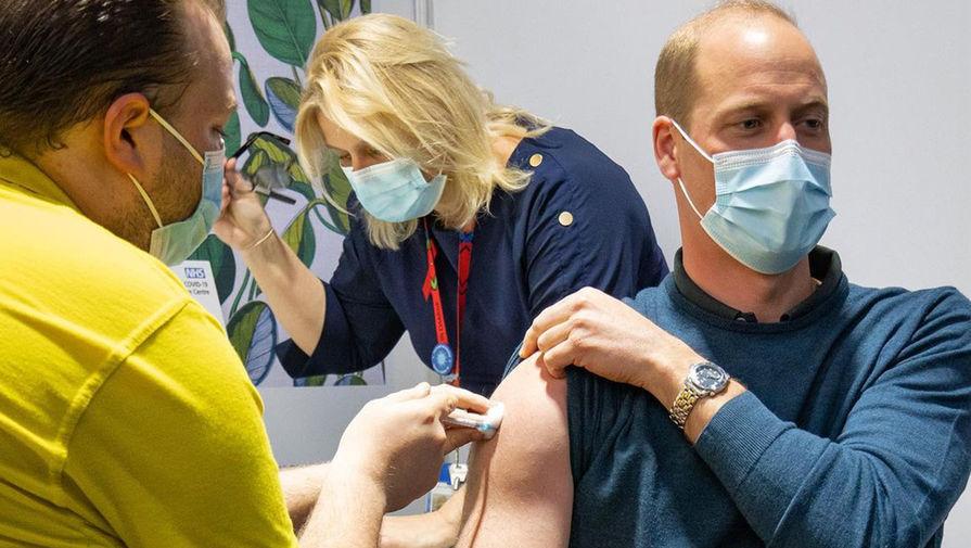 Принц Уильям сделал прививку от коронавируса