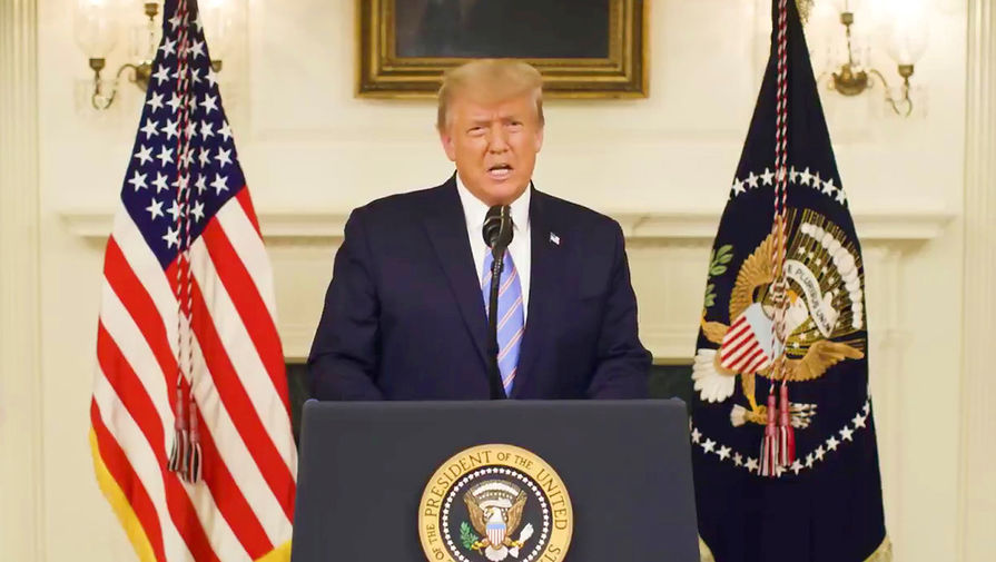 Названы сроки вынесения импичмента Трампу в Конгрессе США