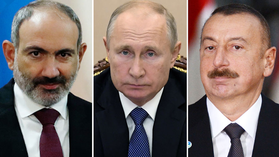 Путин: трехсторонняя группа обеспечит разблокирование экономических связей в Карабахе