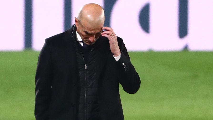 Зидан не увидел проблемы в вылете 'Реала' из Кубка от команды третьей лиги