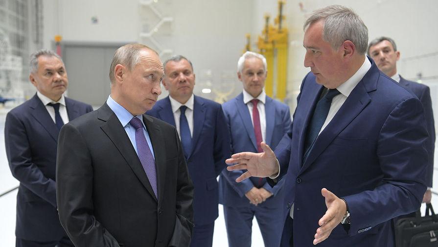 Кремль анонсировал доклад Рогозина Путину