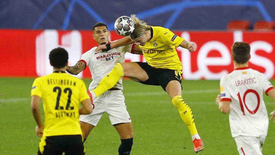 'Боруссия' сыграла вничью с 'Севильей' и вышла в 1/4 финала Лиги чемпионов