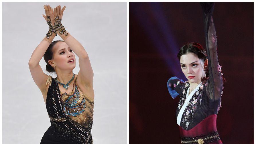 Загитова вспомнила, как выступала в платье Медведевой