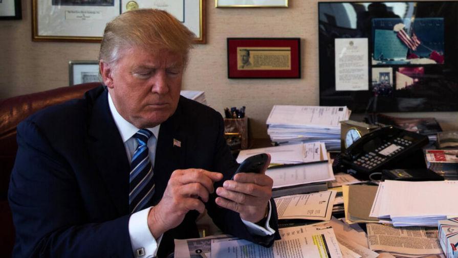 Аккаунты Трампа в Facebook и Instagram заблокировали до конца его президентства