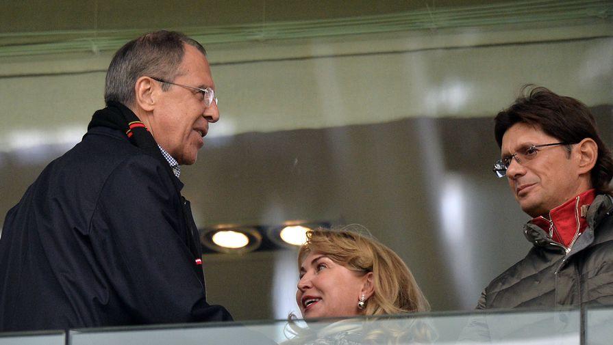 Захарова рассказала, как Лавров болеет за 'Спартак'