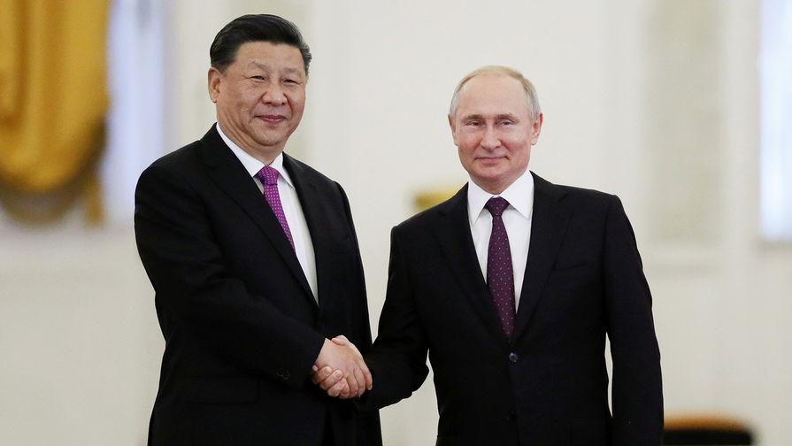 Путин и Цзиньпин заявили, что отношения России и Китая достигли наивысшего уровня