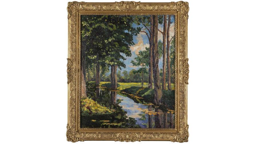 Написанную Уинстоном Черчиллем картину выставили на аукцион
