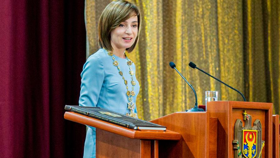 Санду выбрала кандидата в премьеры Молдавии