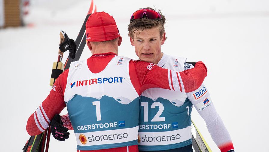 Призер Игр объяснил, почему российские лыжники не дружат с норвежцами