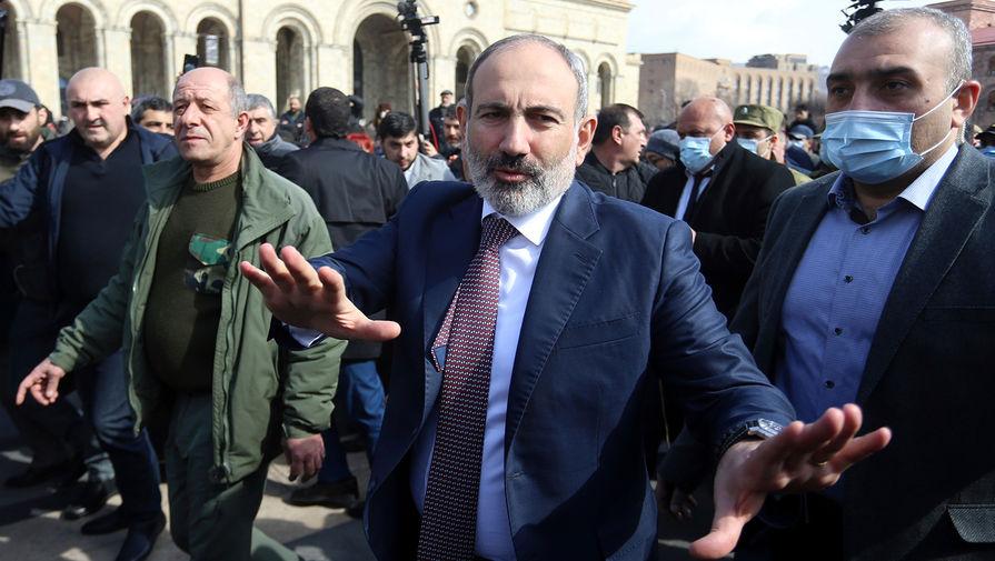 Пашинян повторно направил предложение по увольнению начальника Генштаба