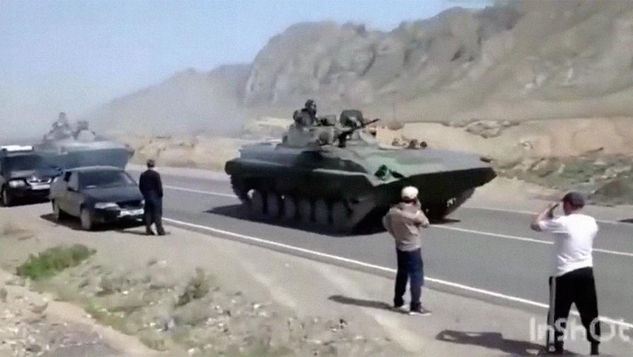 В Киргизии подсчитали потери от конфликта с Таджикистаном