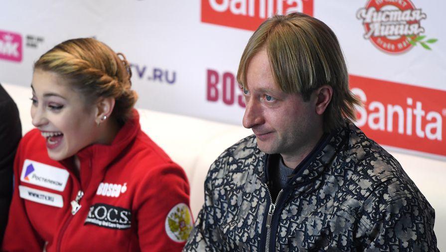 Плющенко отреагировал на решение Косторной сняться с чемпионата России