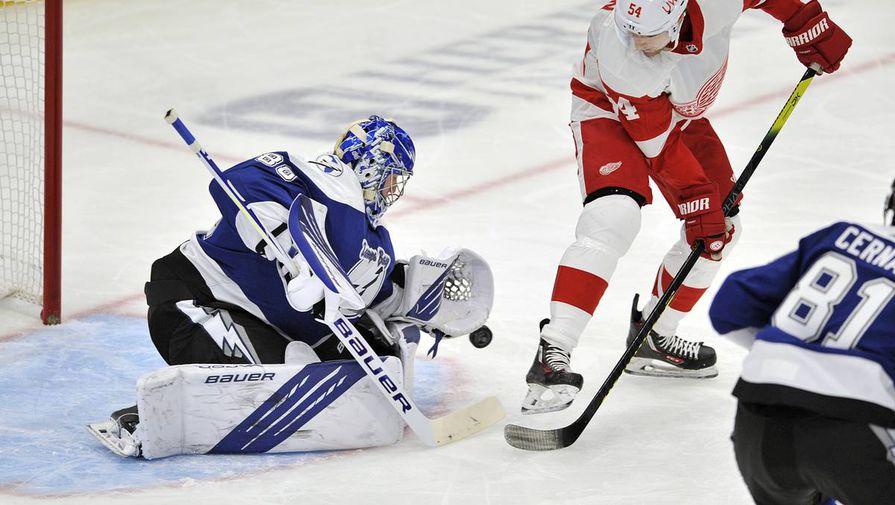Василевского назвали лучшим голкипером НХЛ