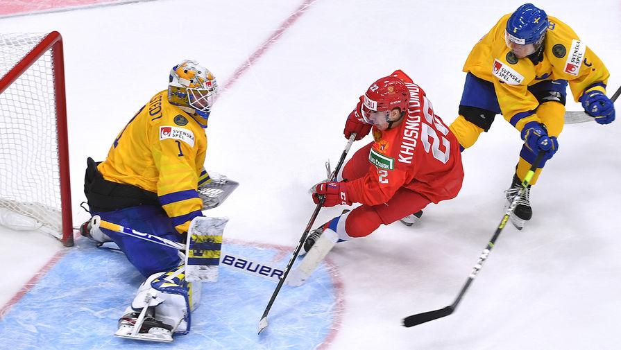 Ларионов оценил игру сборной Росси в матче с командой Швеции