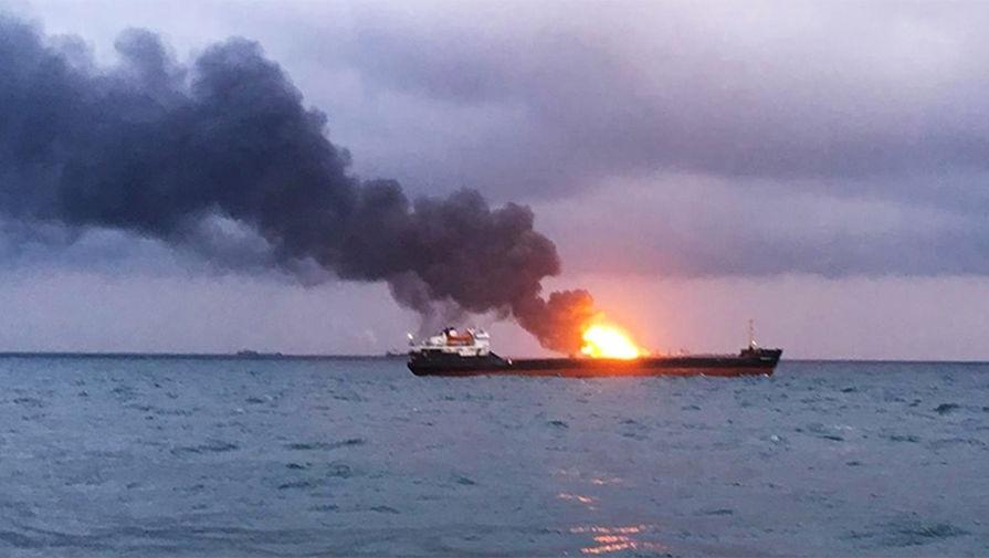 На танкере у побережья саудовской Саудовской Аравии произошел взрыв