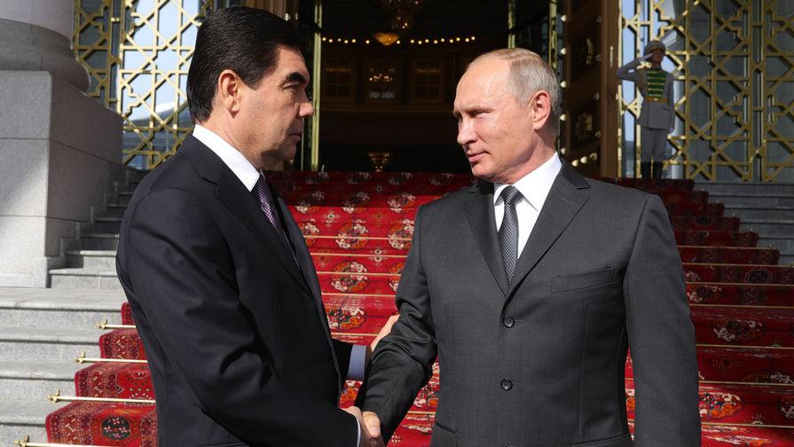 Бердымухамедов поблагодарил Путина за личный вклад в борьбу с коронавирусом
