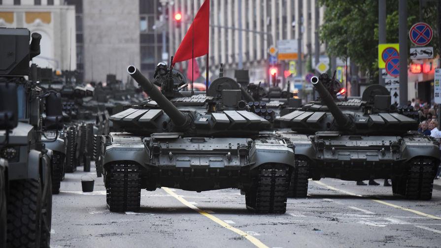 Российские танкисты исполнили новогоднюю мечту подростка