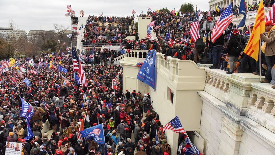 В связи со штурмом Капитолия США задержаны 280 человек