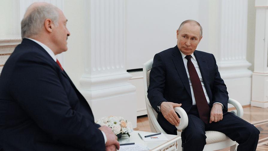 Путин и Лукашенко договорились встретиться в скором времени