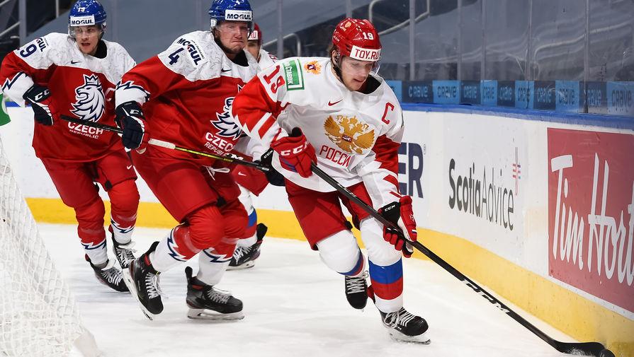 Сборная России второй год подряд проиграла команде Чехии в матче МЧМ