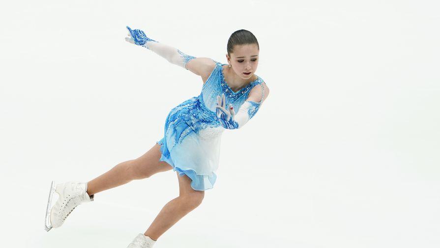 Опубликовано историческое выступление Валиевой на Кубке Первого канала
