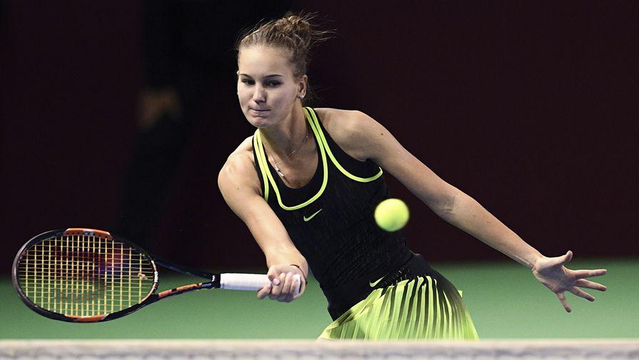 Российская теннисистка Кудерметова вышла в финал турнира WTA в Абу-Даби