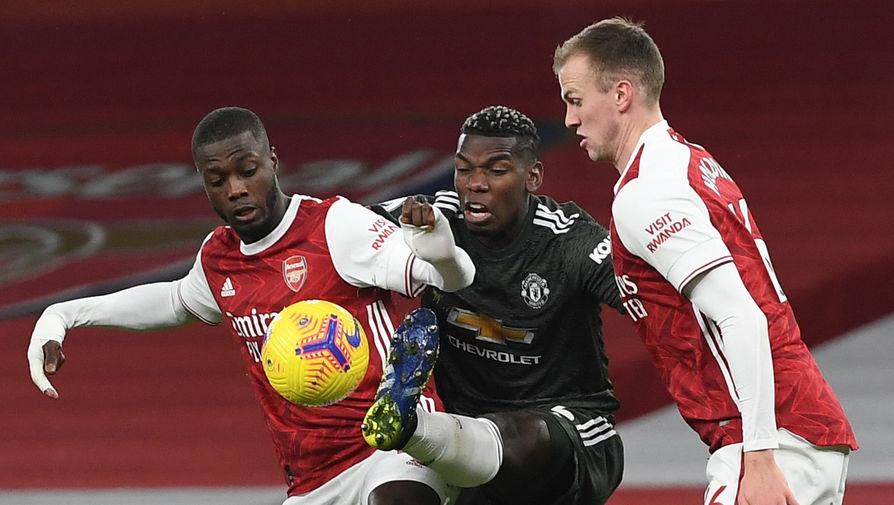 'Арсенал' сыграл вничью с 'Манчестер Юнайтед' в матче АПЛ