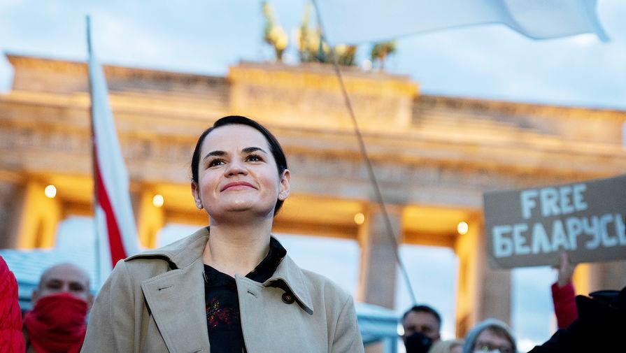 Тихановская заявила, что оппозиция Белоруссии открыта к контактам с Москвой