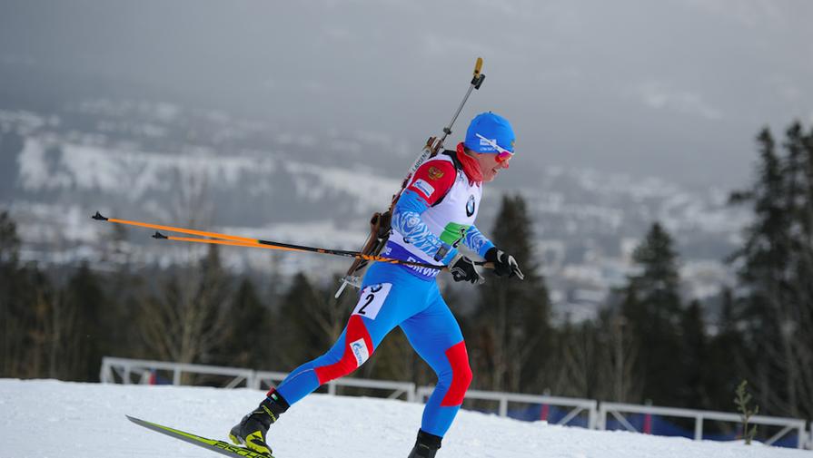 Российские биатлонисты завоевали золото в смешанной эстафете в Оберхофе