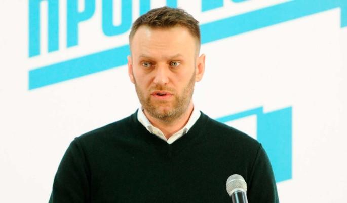 Суд отправил Навального под арест на 30 суток