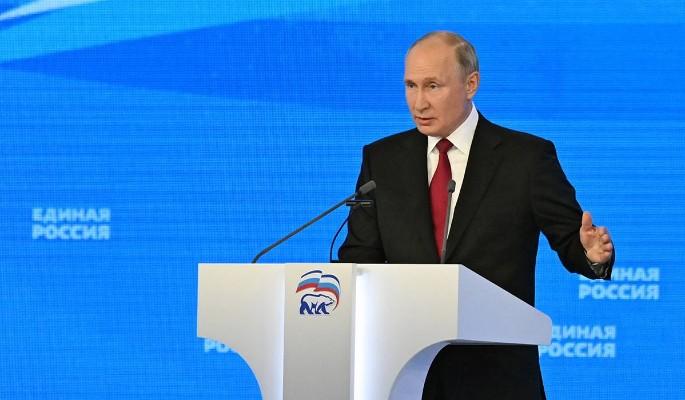 Путин предложил пятерку лидеров избирательного списка 'Единой России'