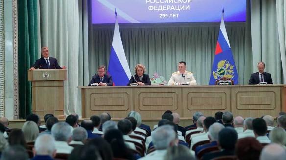 Володин отметил роль прокуратуры в защите прав и свобод людей