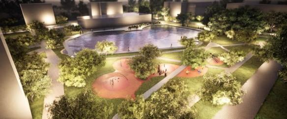 Зону отдыха возле Амбулаторного пруда благоустроят в 2021 году