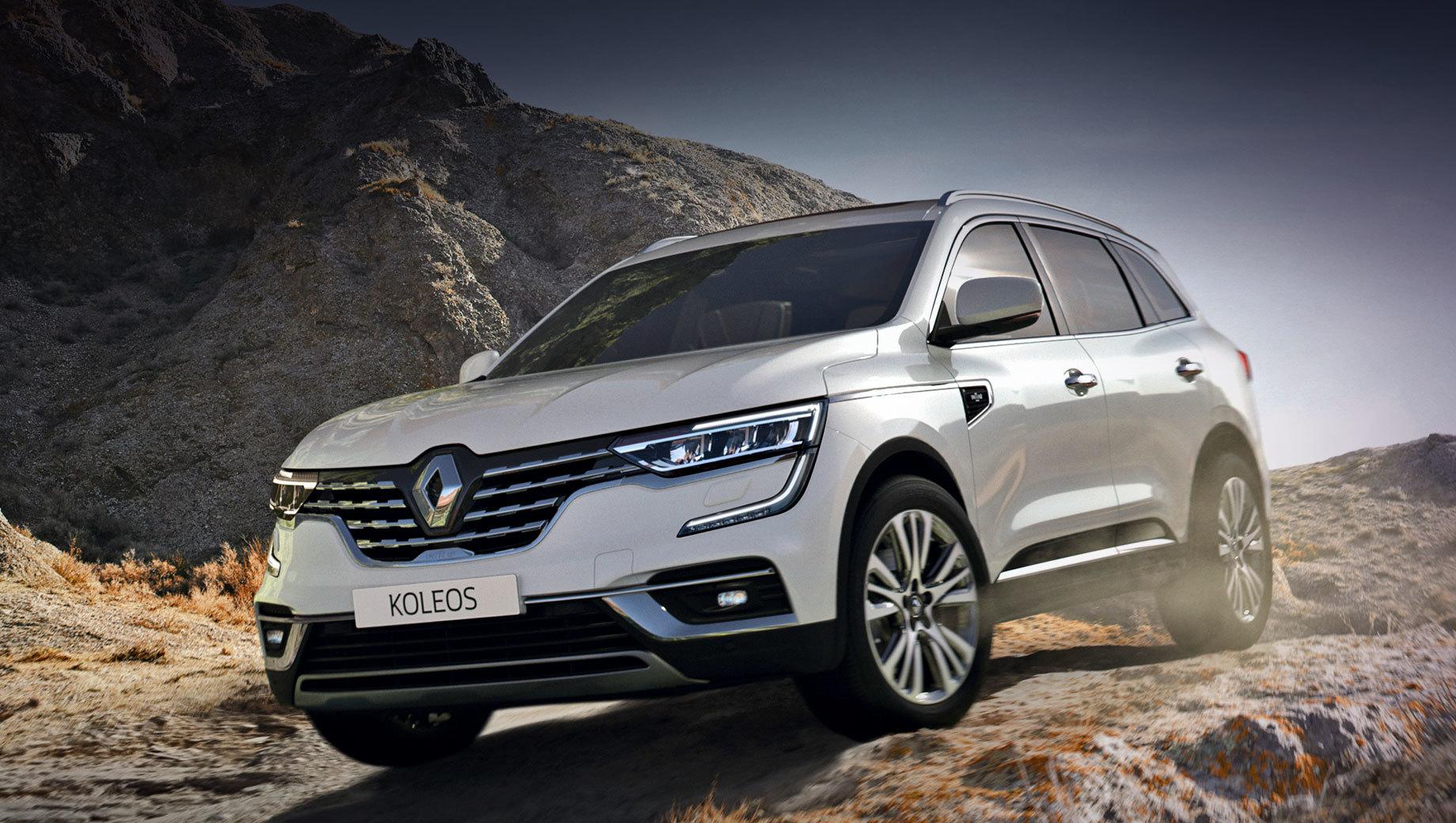 Renault Koleos утратил «дешёвые» исполнения в Европе