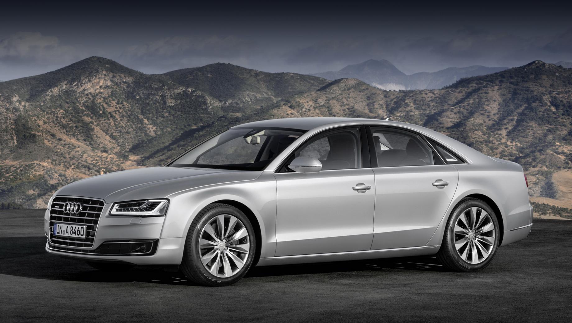 У старых Audi A8 будет отремонтирован уплотнитель
