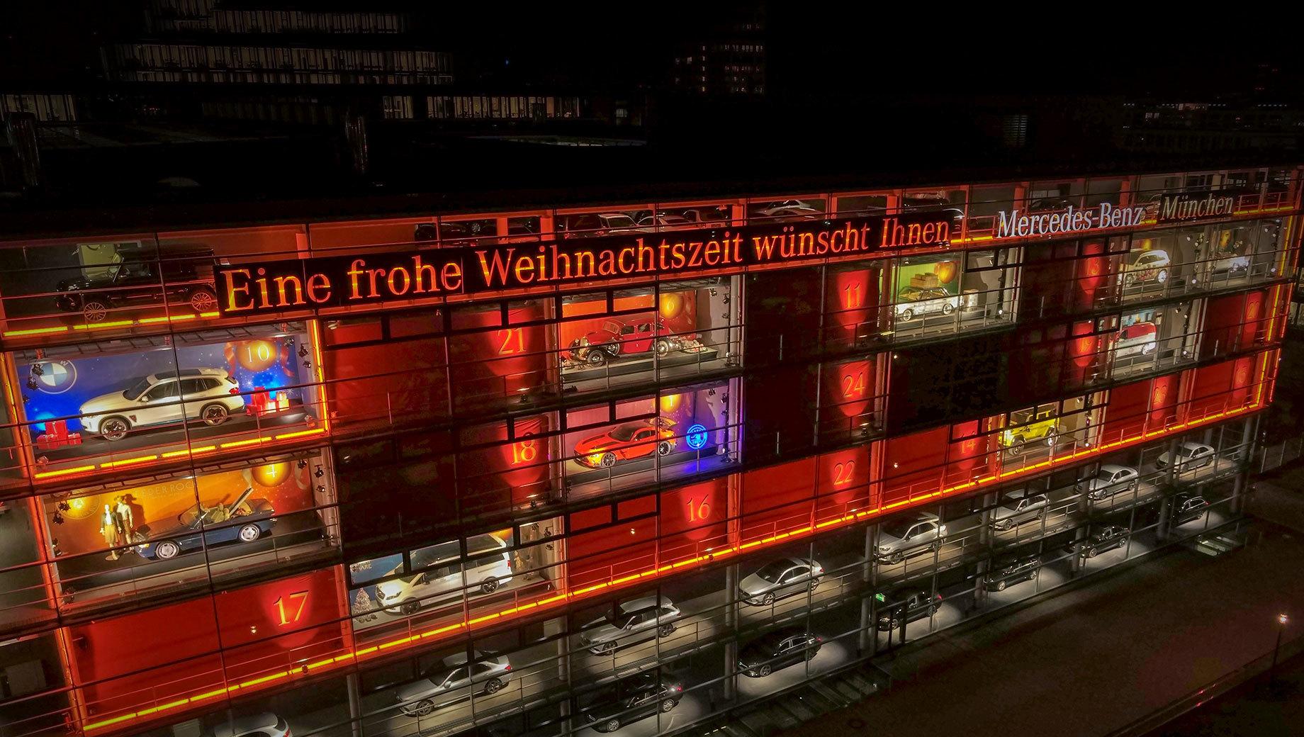 Mercedes-Benz и BMW проявили солидарность в Мюнхене
