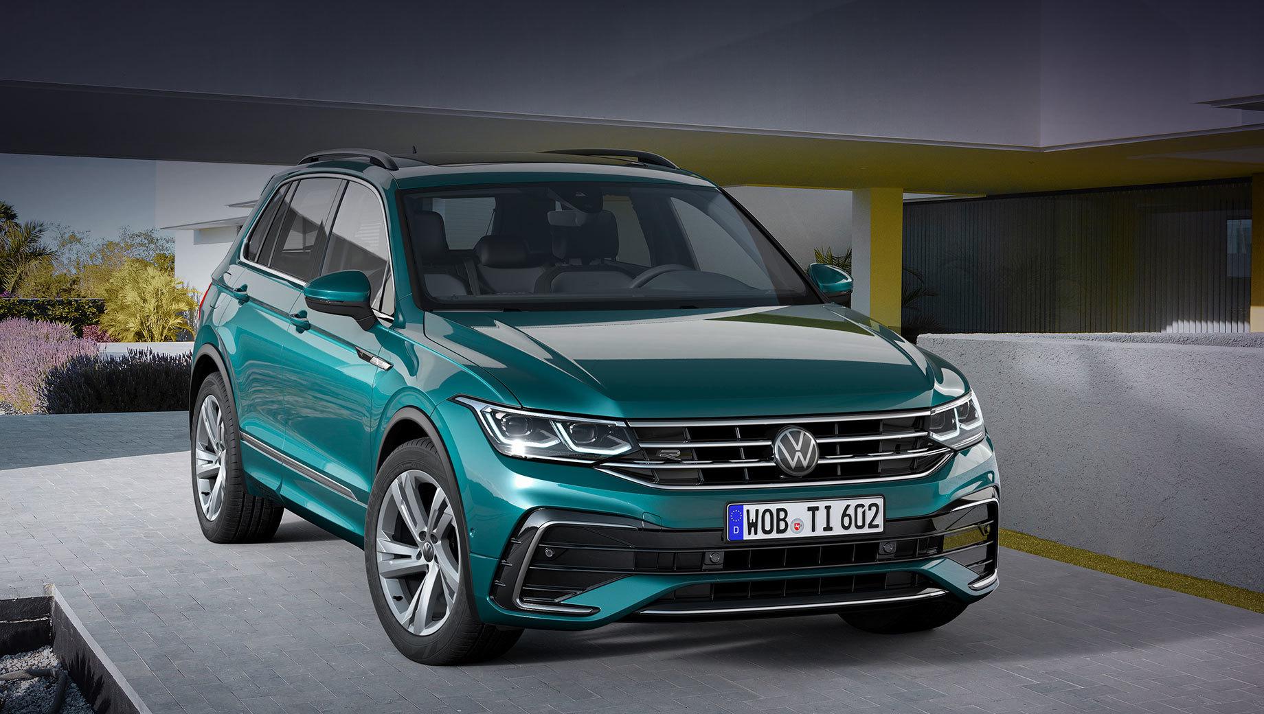 Volkswagen Tiguan подешевел после рестайлинга