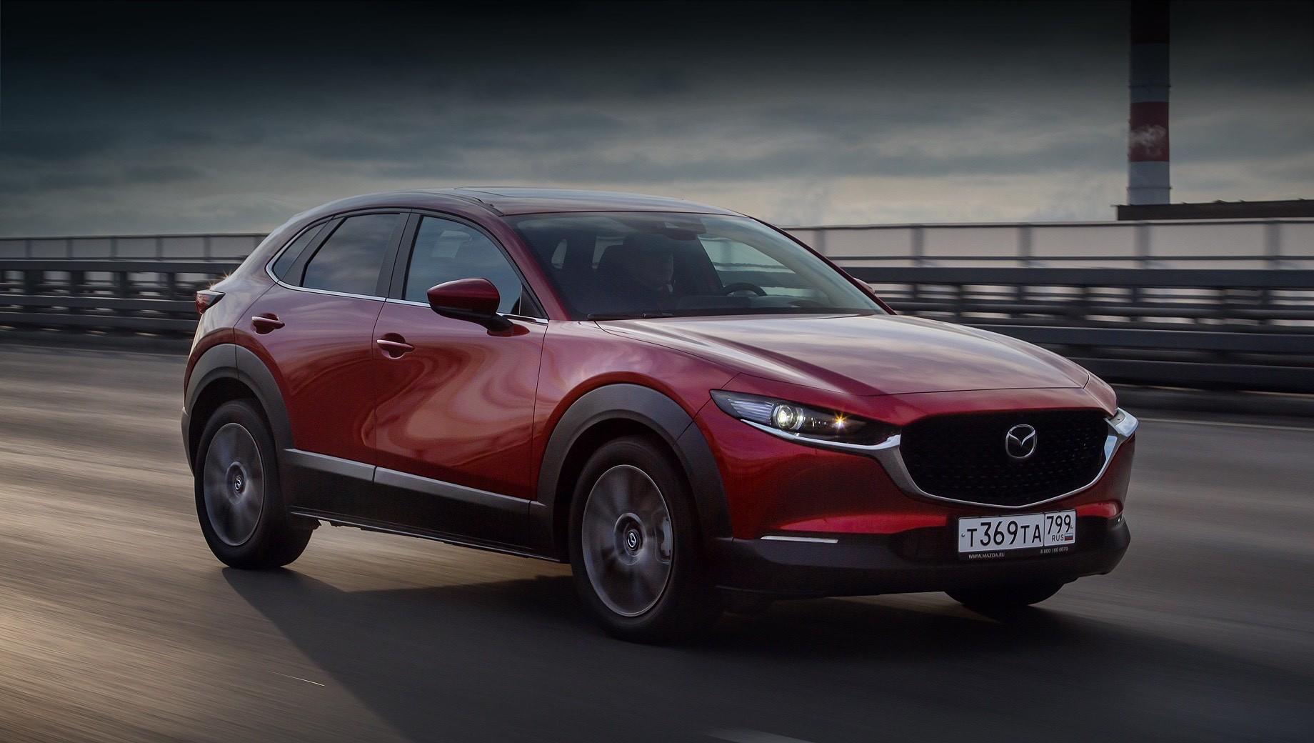 Mazda озвучила полный прайс-лист на кроссовер CX-30