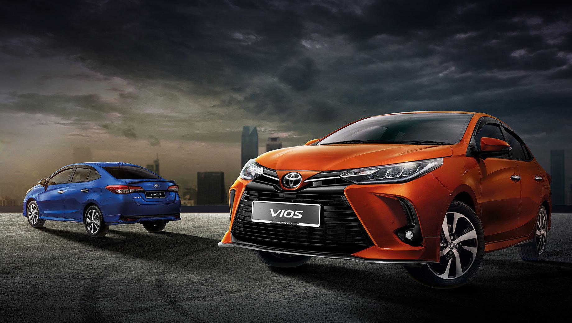 Седан Toyota Vios «спортивно» обновился в Малайзии
