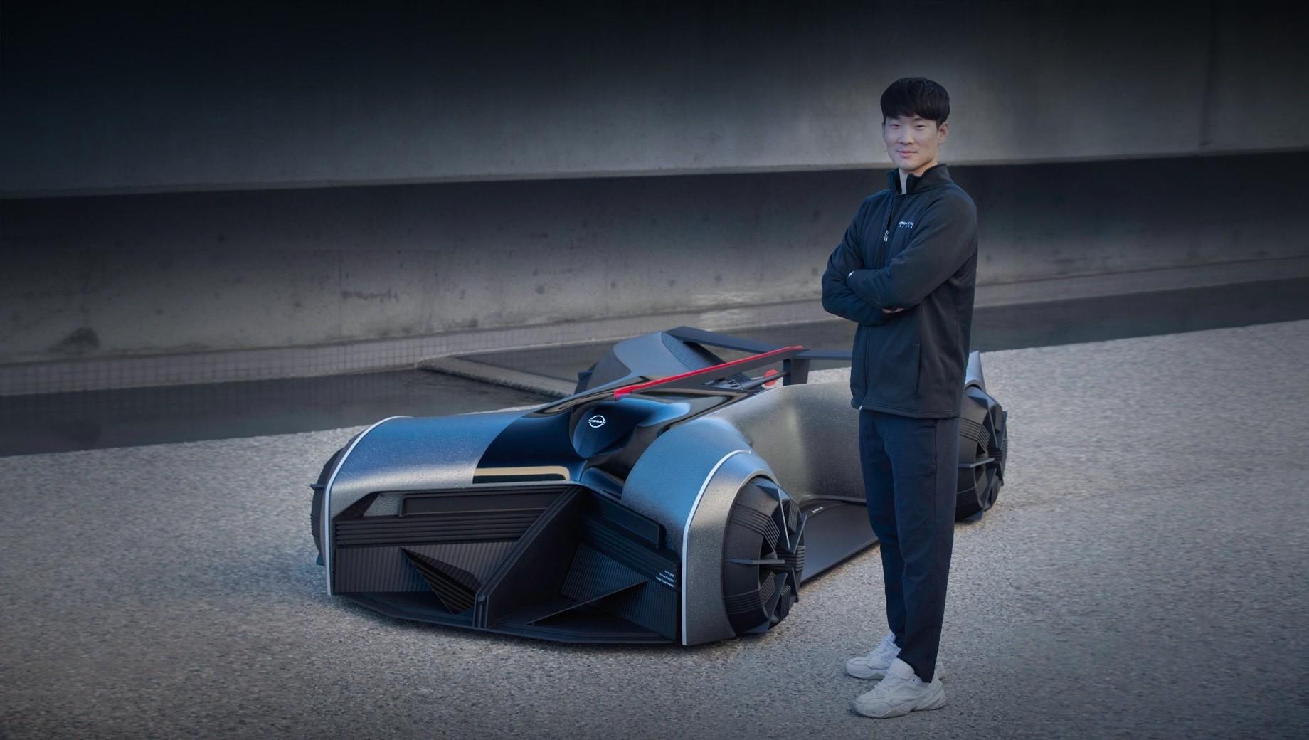 Батарейный концепт Nissan GT-R (X) заглянул в 2050 год