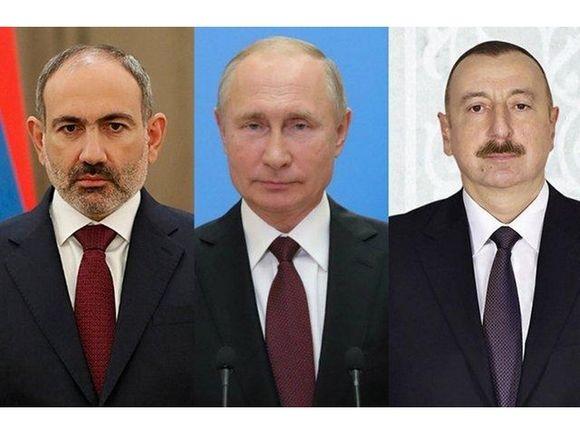 В Кремле начались переговоры Путина, Алиева и Пашиняна по Карабаху